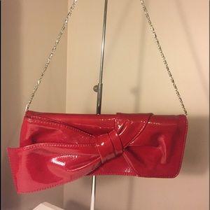 Handbags - Cardinal red clutch dressy purse